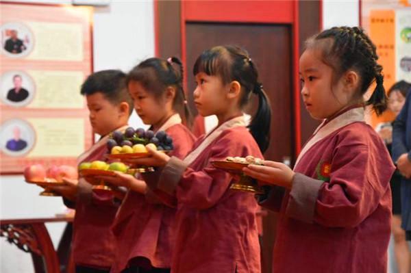 追思先賢,弘揚傳統,書香文萃國學院舉行2019年祭孔大典