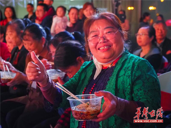 洋湖这场文化大餐,感动无数老人……