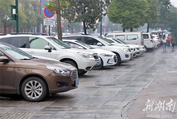 长沙县:盲道折射城市文明